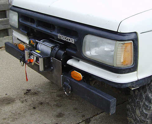 The Ho - The installed winch