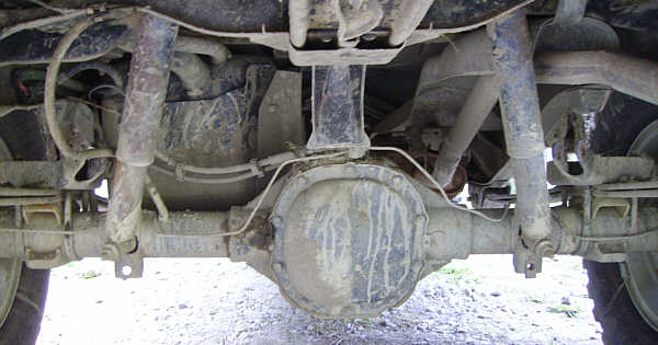The Ho - Rear Suspension