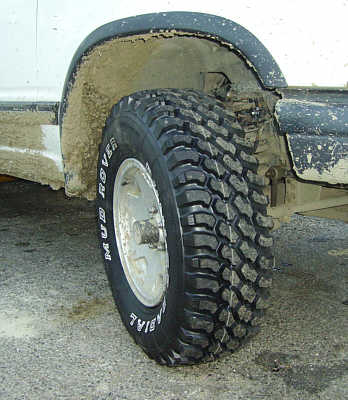 Our new Dunlop Radial Mud Rovers